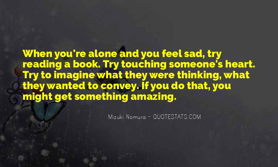 When You're Lonely Quotes #111970