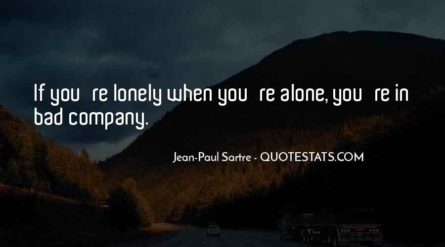 When You're Lonely Quotes #1131253