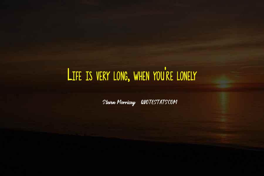 When You're Lonely Quotes #115280