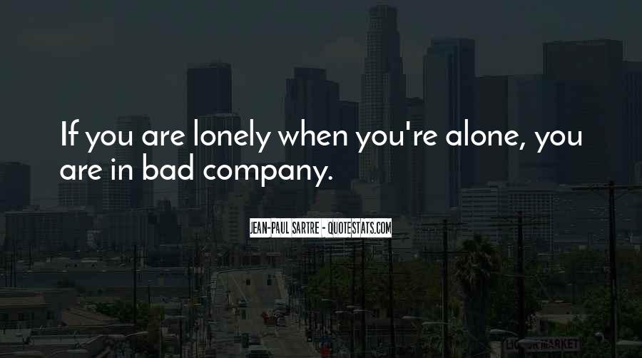 When You're Lonely Quotes #1512783