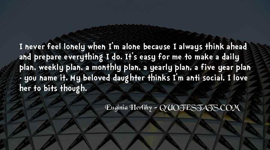 When You're Lonely Quotes #283693