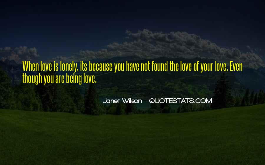 When You're Lonely Quotes #34402