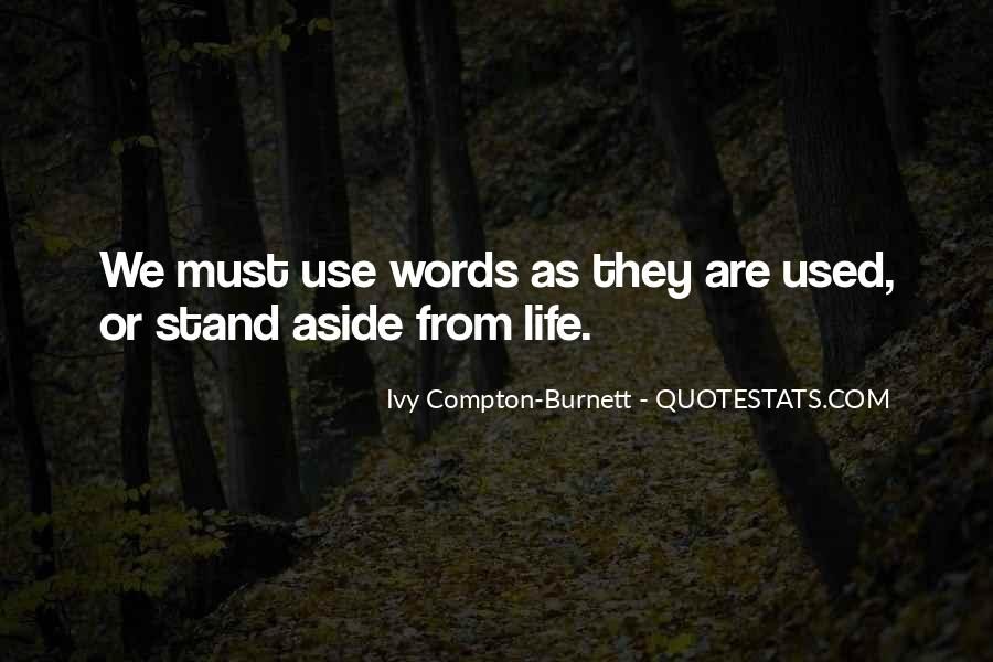 Where I Stand In Your Life Quotes #28842