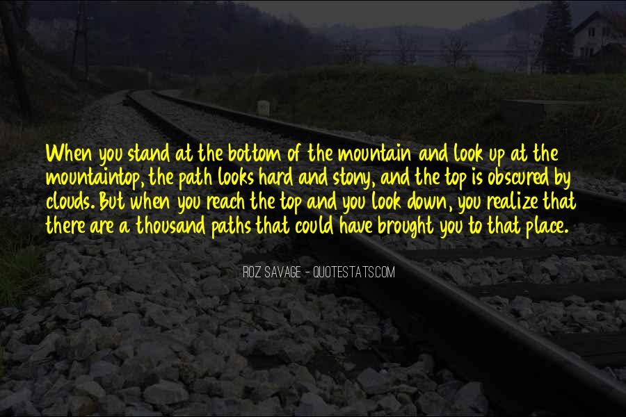 Where I Stand In Your Life Quotes #29881