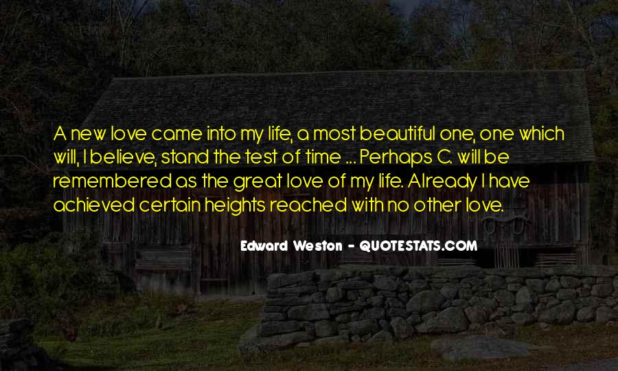 Where I Stand In Your Life Quotes #39859