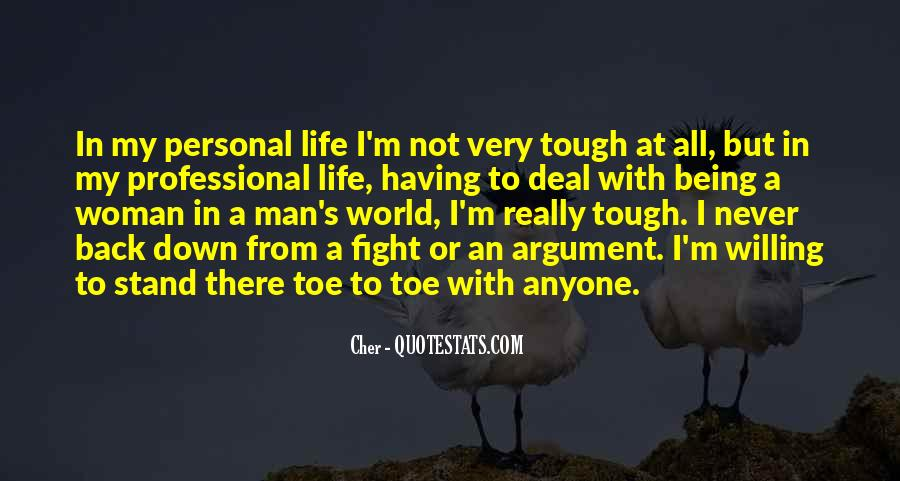Where I Stand In Your Life Quotes #45649