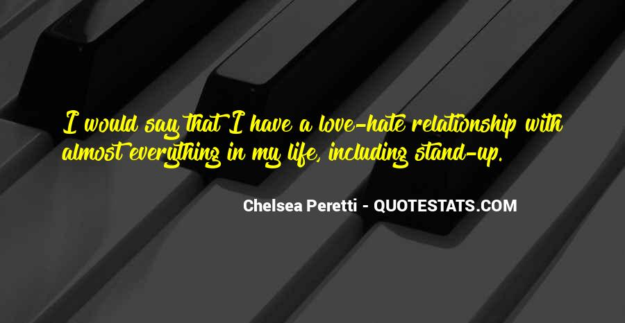 Where I Stand In Your Life Quotes #51073