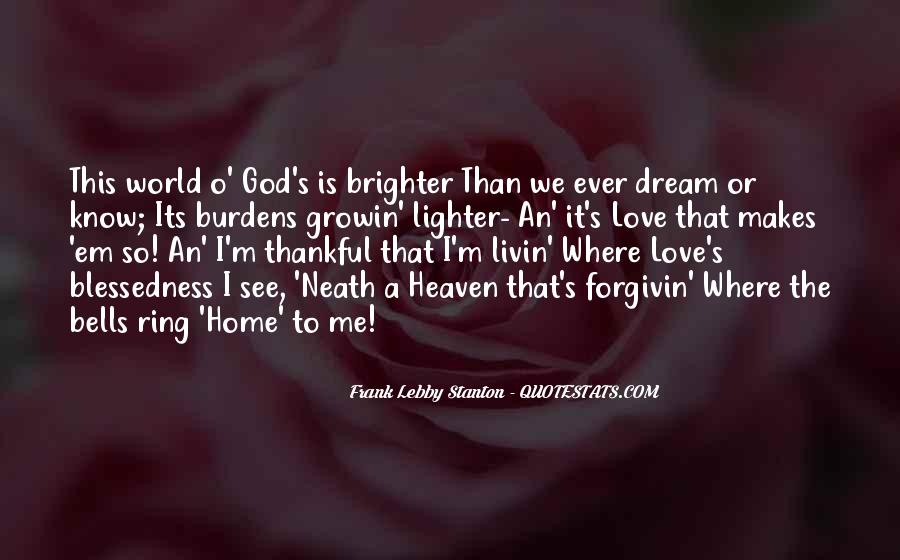 Where Is Heaven Quotes #1031081