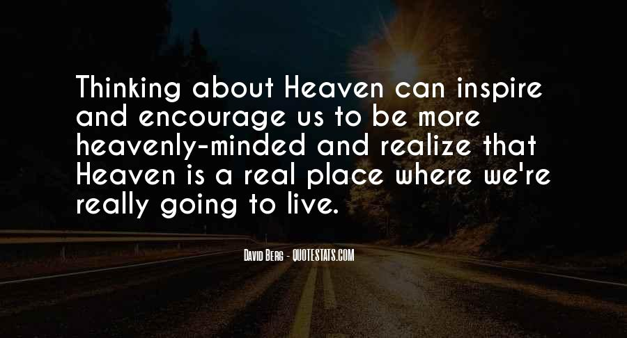 Where Is Heaven Quotes #1067745