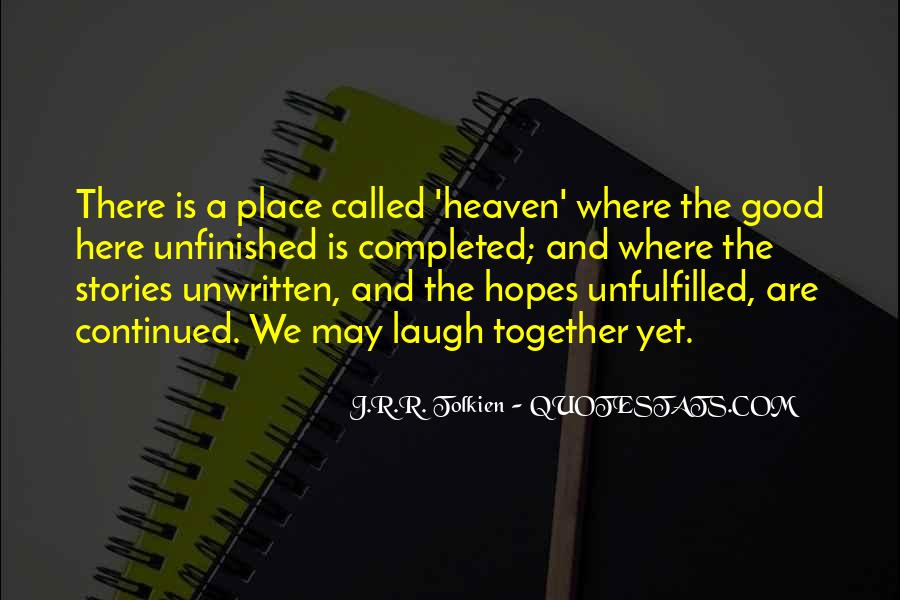 Where Is Heaven Quotes #492148