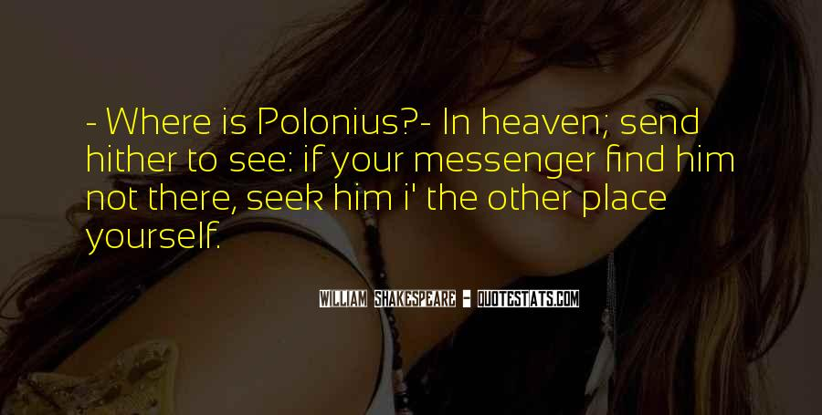 Where Is Heaven Quotes #671206