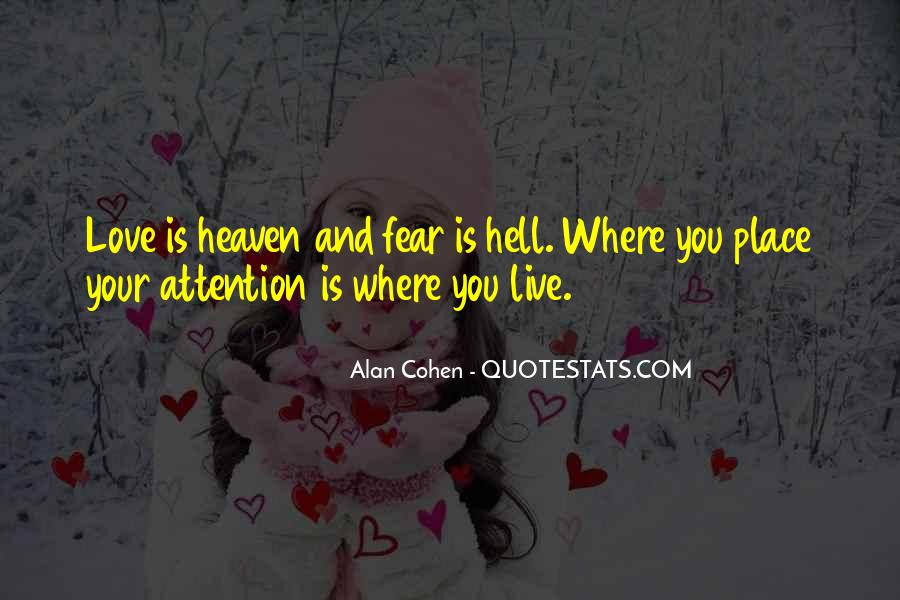 Where Is Heaven Quotes #704710