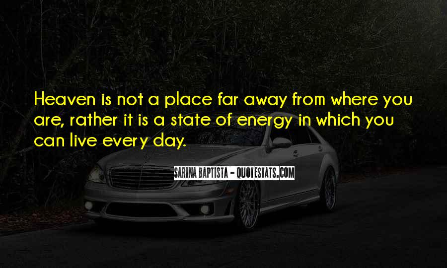 Where Is Heaven Quotes #729652