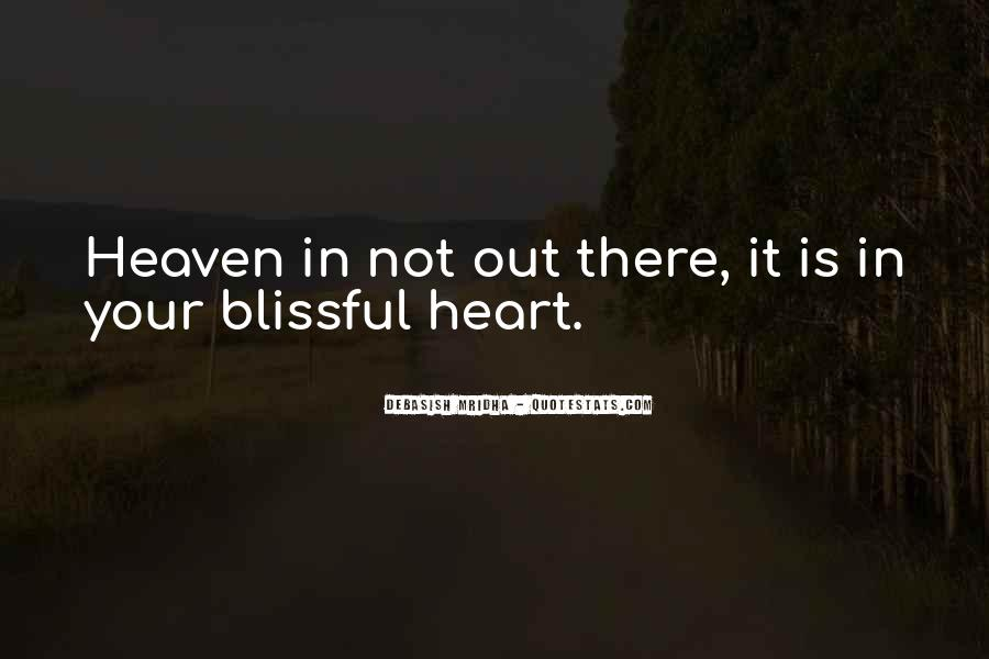 Where Is Heaven Quotes #81381