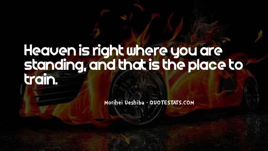 Where Is Heaven Quotes #870439