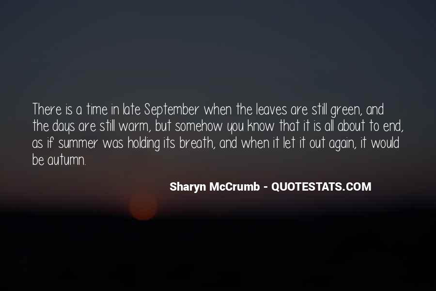 Where Is Summer Quotes #10398