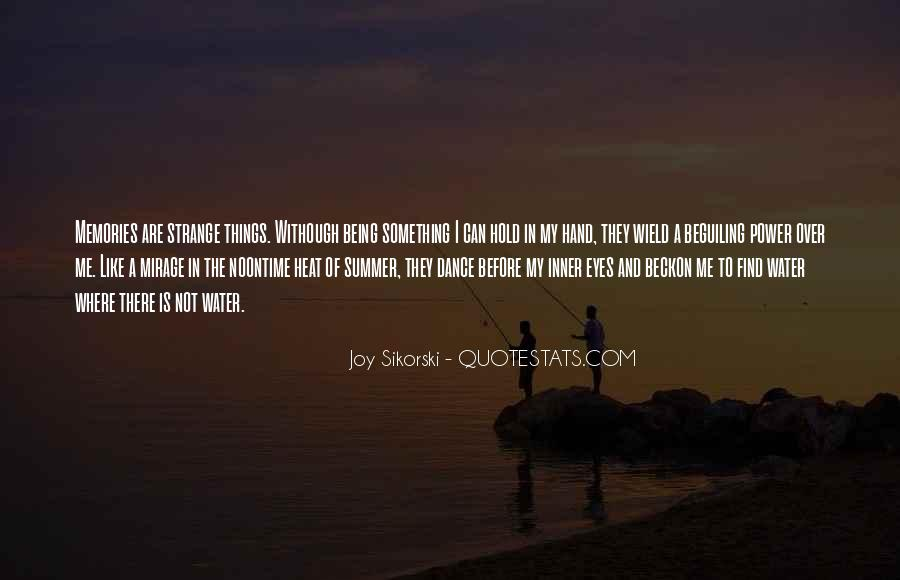 Where Is Summer Quotes #1352230