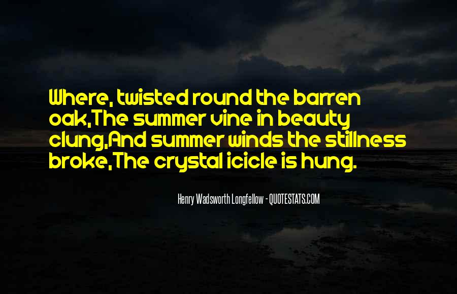 Where Is Summer Quotes #1504717