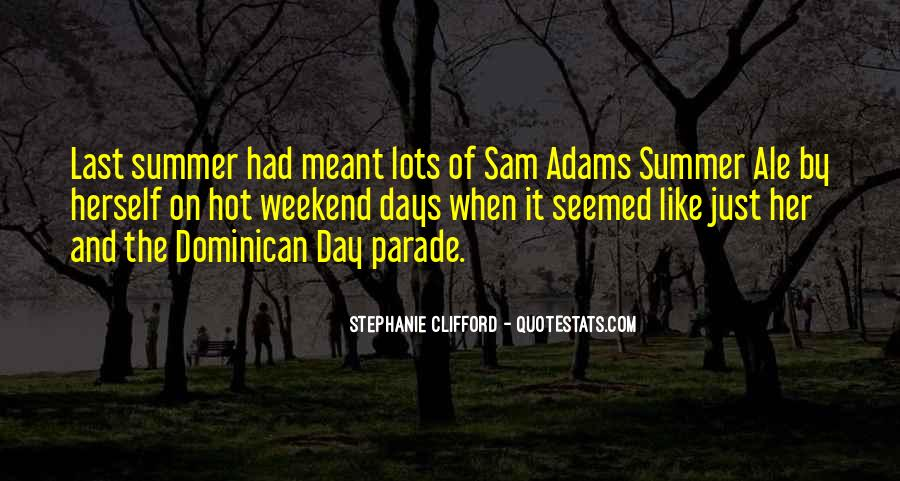 Where Is Summer Quotes #18147
