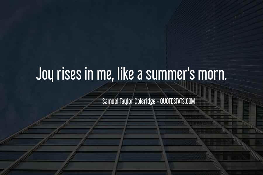 Where Is Summer Quotes #21560
