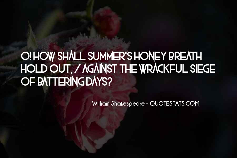 Where Is Summer Quotes #24468