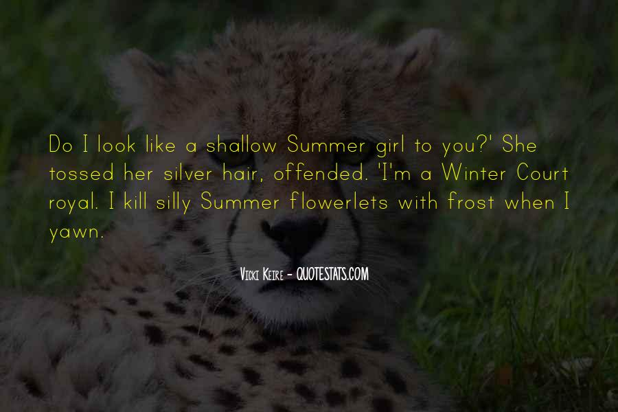 Where Is Summer Quotes #26459