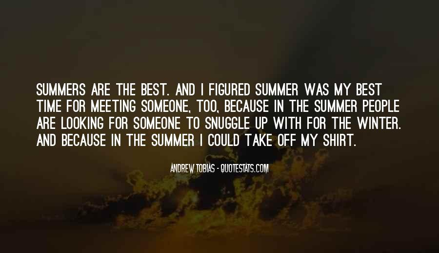 Where Is Summer Quotes #29748