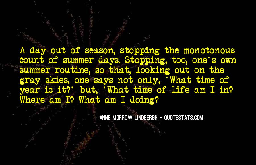 Where Is Summer Quotes #435949
