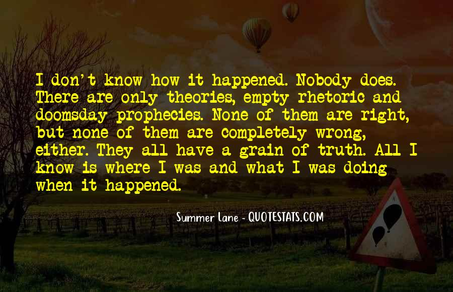 Where Is Summer Quotes #450801