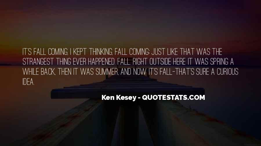 Where Is Summer Quotes #5676