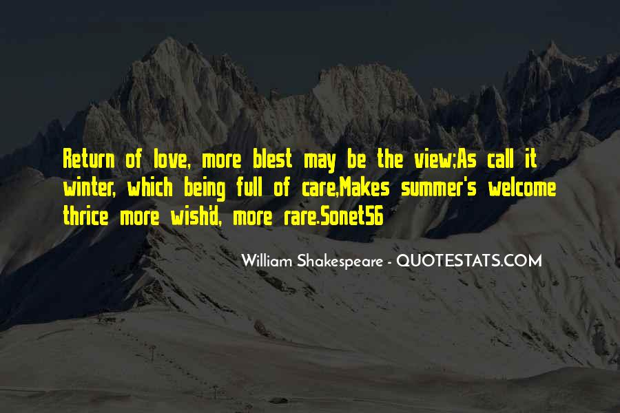 Where Is Summer Quotes #7859