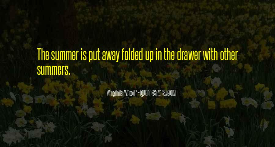 Where Is Summer Quotes #8511