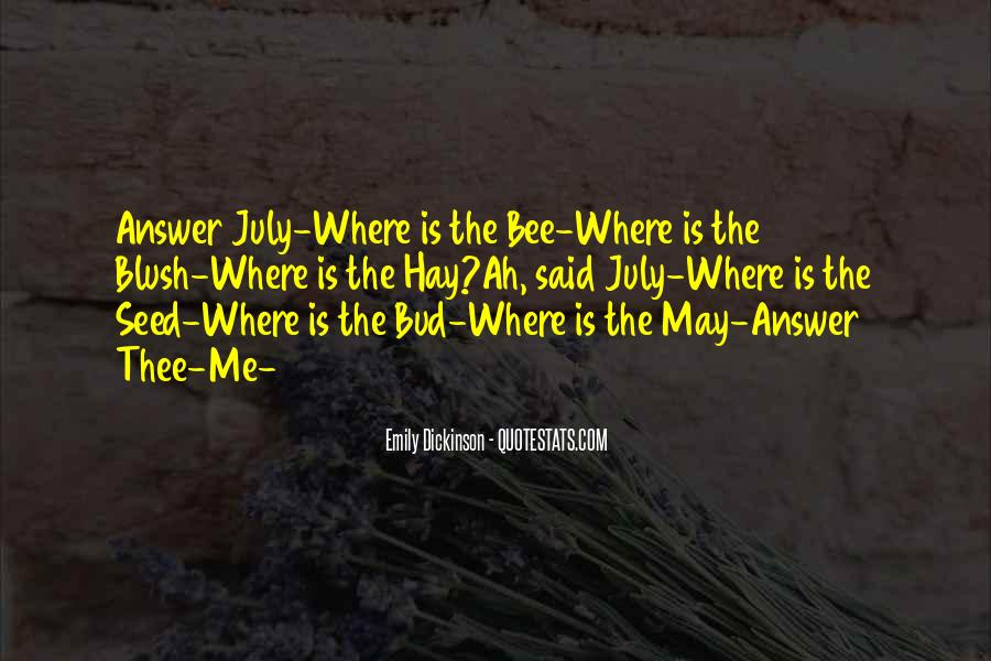 Where Is Summer Quotes #941215