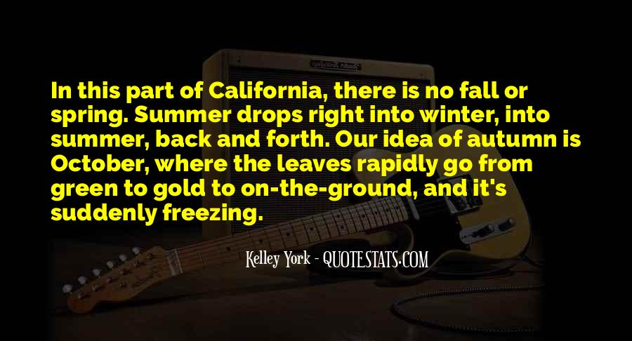 Where Is Summer Quotes #97575