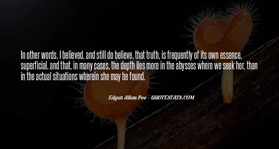 Where The Truth Lies Quotes #1013260