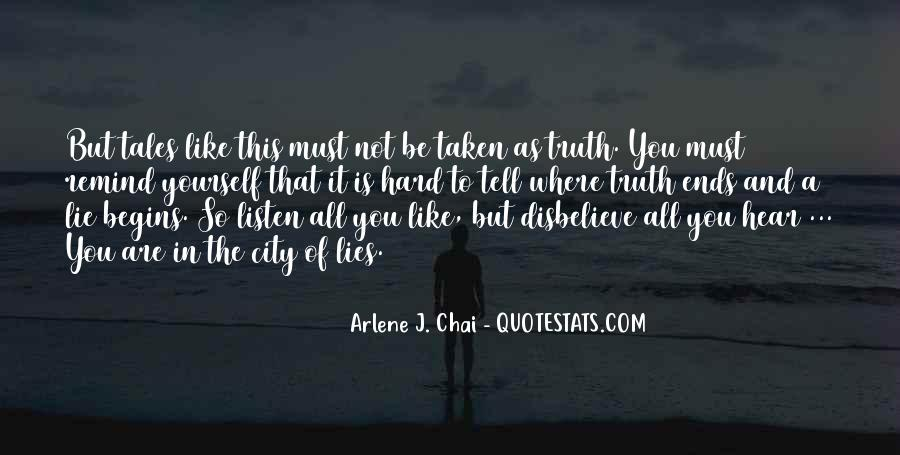 Where The Truth Lies Quotes #1651846