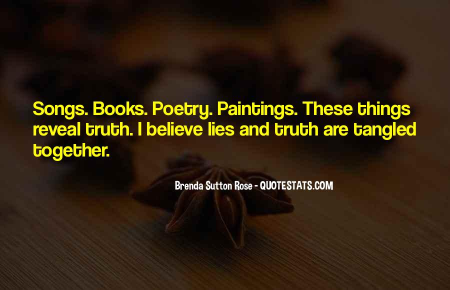 Where The Truth Lies Quotes #48179