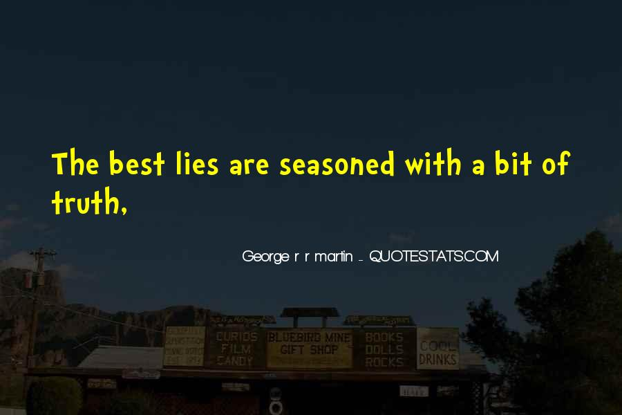 Where The Truth Lies Quotes #72795