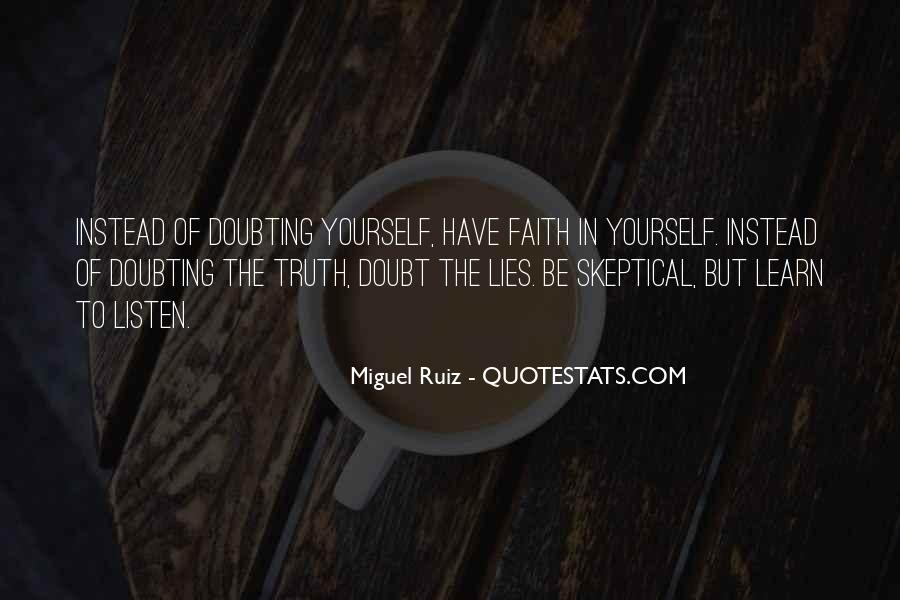 Where The Truth Lies Quotes #74398