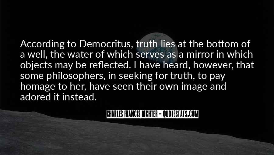 Where The Truth Lies Quotes #77074