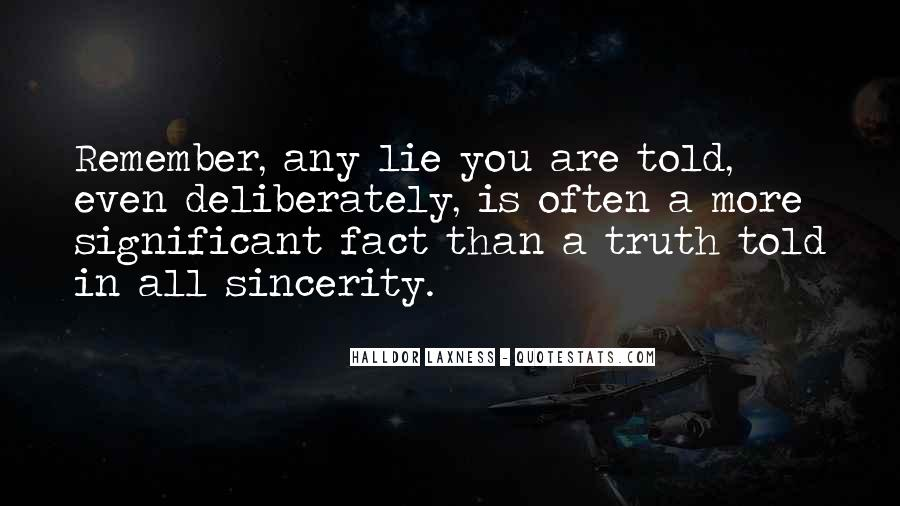 Where The Truth Lies Quotes #82814
