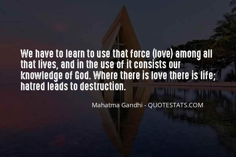 Where There Is Love There Is God Quotes #177122