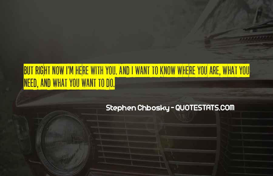 Where You Are Right Now Quotes #551796