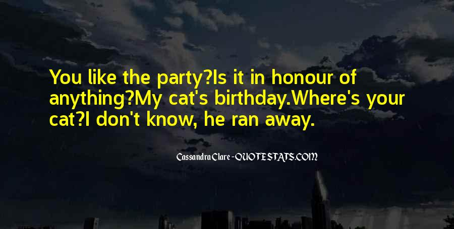 Where's The Party Quotes #55815