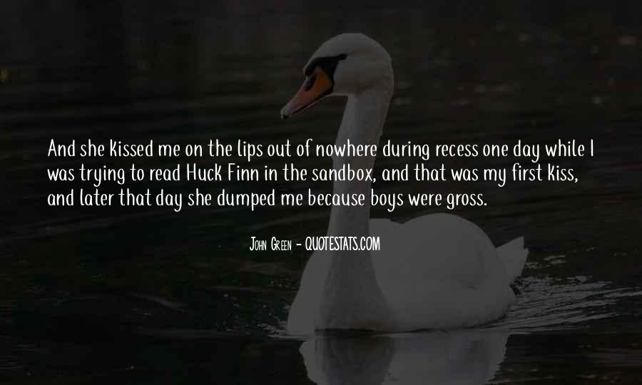 Quotes About Huck #127785