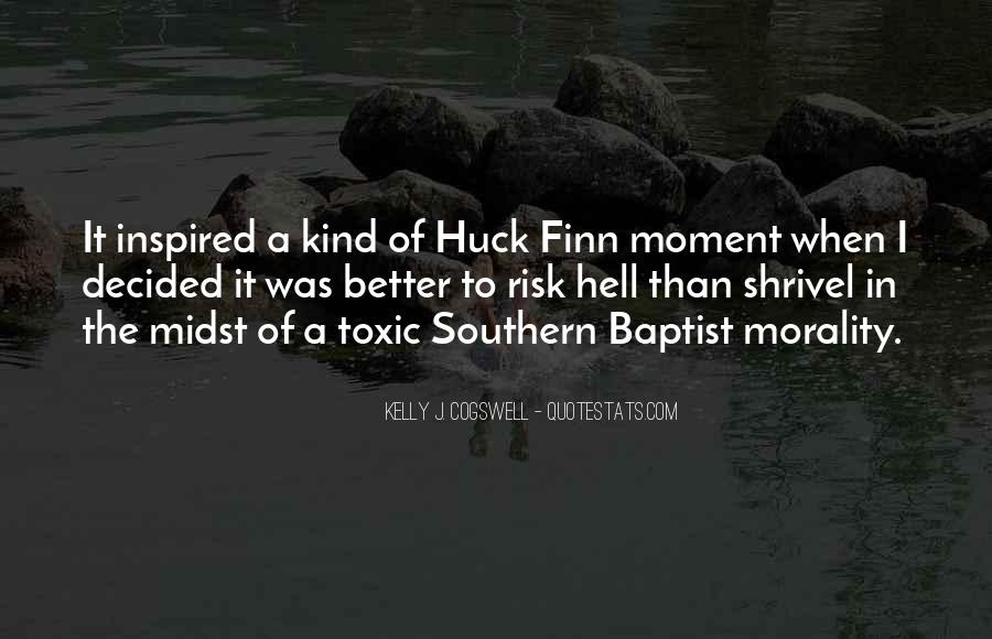 Quotes About Huck #637747