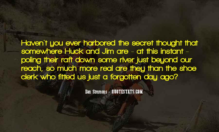 Quotes About Huck #98308