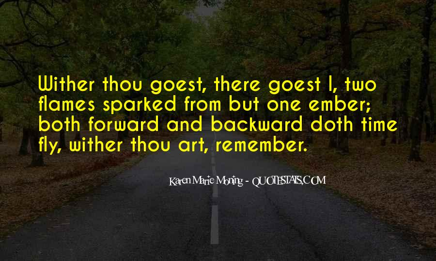 Whither Thou Goest Quotes #813465