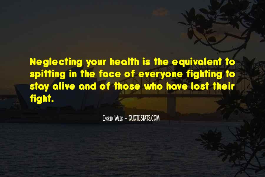 Who Health Quotes #23715