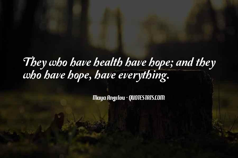 Who Health Quotes #30418